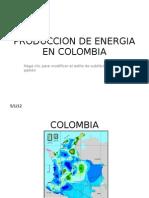Produccion de Energia en Colombia