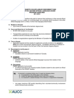 2011 Queen e Guidelines