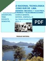 1º CLASE DE QCA GENERA. MATERIA Y ENERGIA UNTECS