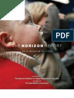 2010 Horizon Report Museum