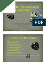 (Le Fonti Di Energia Non Rinnovabili