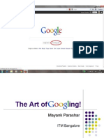 Art of Googling