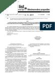 Mednarodne pogodbe 2.11.2011 Akt Uradni list št.87. Republike Slovenije