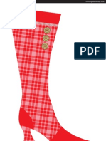 Danish Xmas Stocking A3
