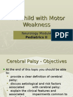 The Child With Motor Weakness 2
