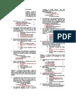 Chn Compre Exam 1 Key Answer