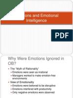 Emotions and Emotional Intelligence 2011