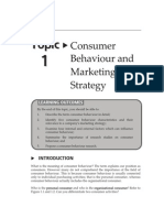 15153802Topic1consumerbehaviournmarketingstrategy