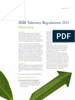 SEBI Takeover Regulation 2011