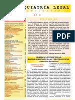 Urgencias Psiquiátricas - marco jurídico de la actuación policial