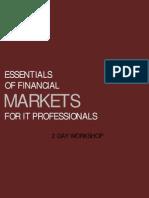 Essentials of Financial Markets
