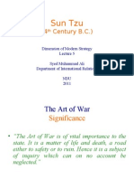 DMS Lecture5-Sun Tzu