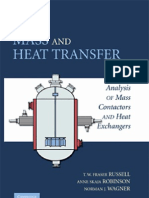 Mass and Heat Transfer Analysis of Mass Cont Actors and Heat Ex Changers (Cambridge Series in Chemical Engineering)