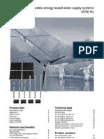 Solar Water Turbines