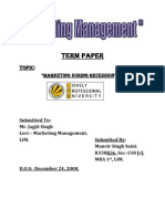 MM Term Paper