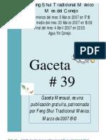 Gaceta 39
