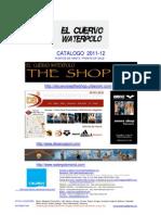 CATALOGO EL CUERVO 11-12