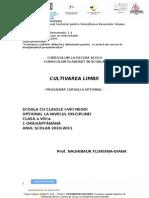 Cultivarea Limbii, Cds, Limba Si Literatura Romana, Clas a VIII-A