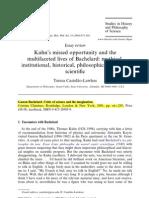 (2) Kuhn and Bachelard