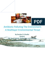 Antibiotic Polluting Environment by DBKhadka