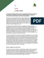 Documento Mensual. Una Victoria de Las Redes Sociales