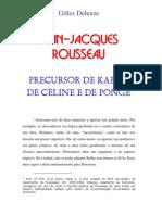 Gilles Deleuze = Jean-Jacques Rousseau s