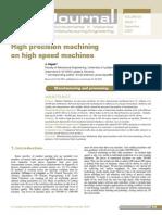 Precision Machining Journal
