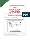 High Gain Amplifier