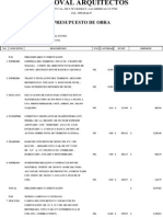 Presupuesto Sr. Jose Ramon Mosqueda