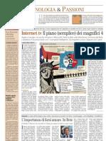 Corriere della Sera Economia - L'importanza di farsi amare. In Rete