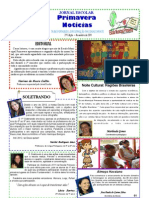 PRIMAVERA NOTÍCIAS NOVEMBRO 2011