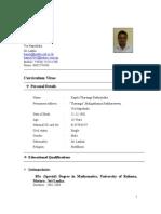Bio Data Kapila