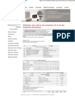 Indices de Protection IP