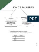 FORMACION DE PALABRAS