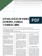 Baalnce de Energia y Entropia en Sistemas Abiertos