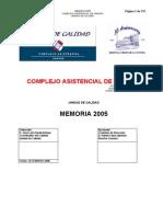 121-Memoria Calidad 2005