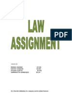 Law Assignment (1)