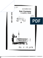 Area Handbook - East Germany