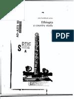 Area Handbook - Ethiopia