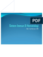 Sistem Immun & Hematologi