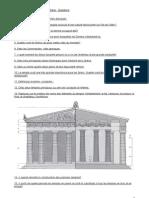 T.E. Connaissance des styles - Grèce - Questions