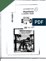 Area Handbook - Mauritania