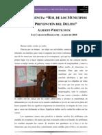 Rol de Los Municipios en La Prevencion Del Delito Bariloche Marzo2010