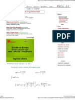 Integrales trigonométricas II
