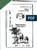 Area Handbook - Libya