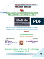 Project Report Metlife Insurance
