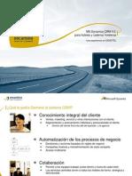 Caso Exito - Microsoft Power Point - MS Dynamics CRM 4 Para HOTELES y CADENAS HOTELERAS