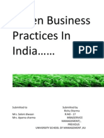 Green Business Practices