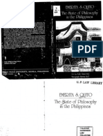 The State of Philosophy in the Philippines by Emerita Quito