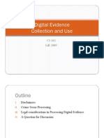 Processing Digital Evidence
